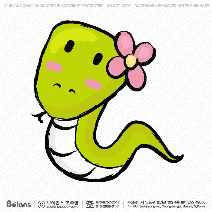 Boians Vector Unique Line Art style Snake Character. Asian Zodiac Character.
