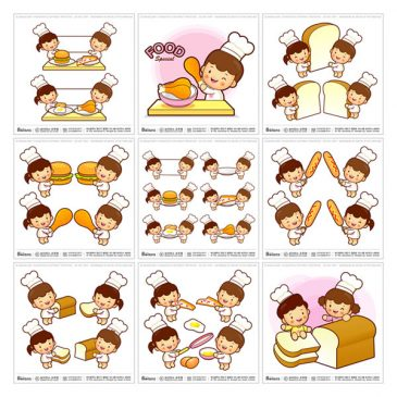 New Launched Boians Vector Kid and Child Character Series 57 Sets.