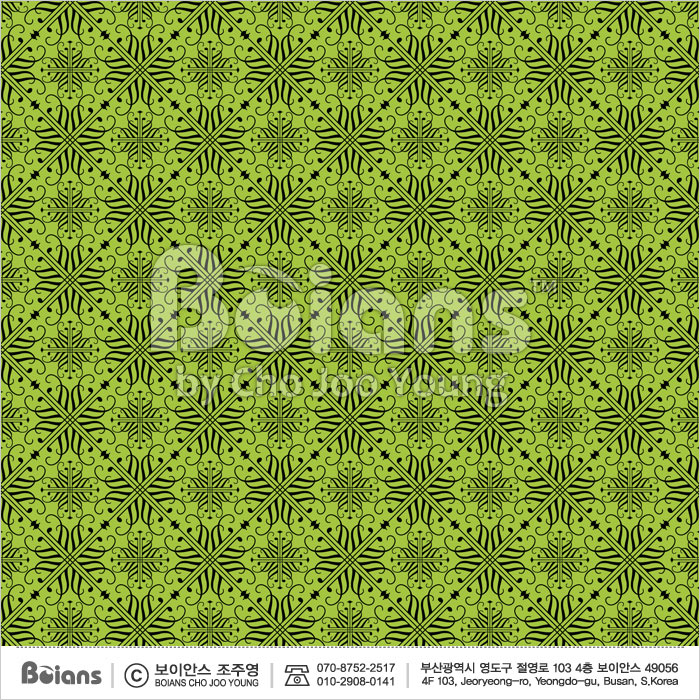 Boians Vector Original Damask Pattern Series 015.