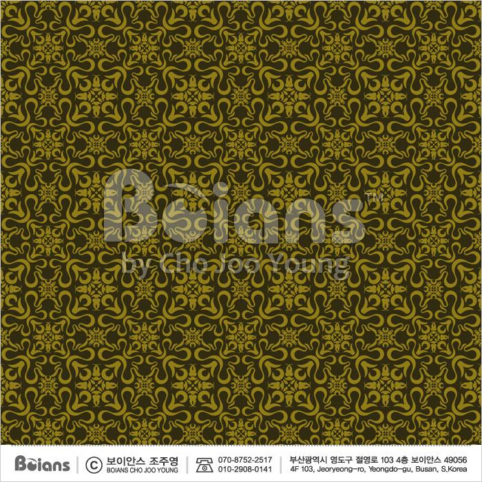 Boians Vector Original Damask Pattern Series 016.