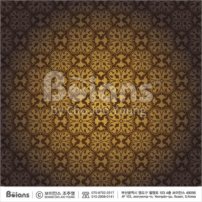 Boians Vector Original Damask Pattern Series 018.