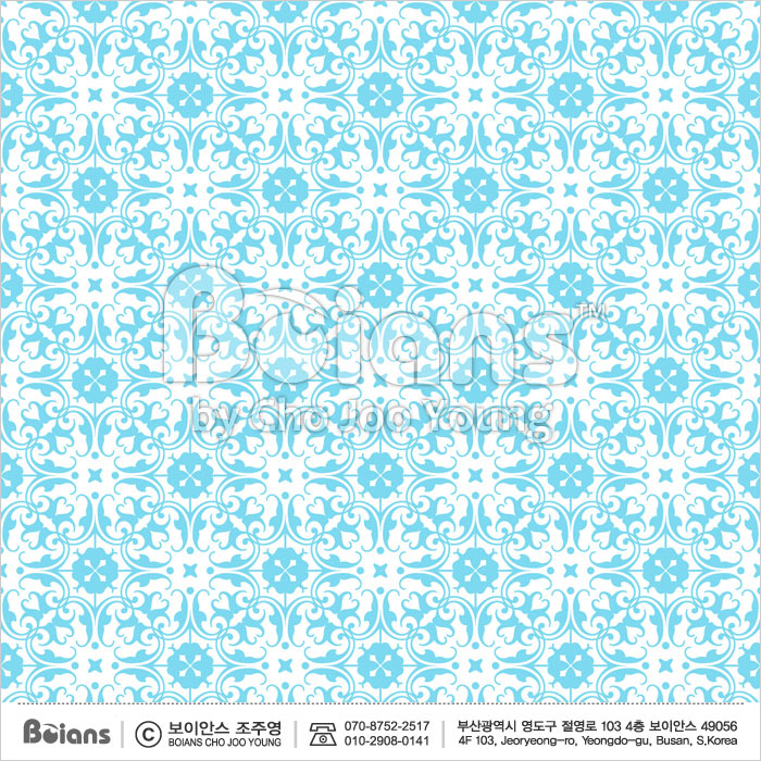 Boians Vector Original Damask Pattern Series 019.