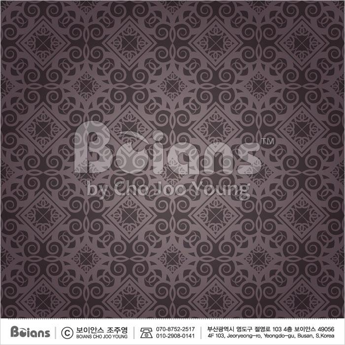 Boians Vector Original Damask Pattern Series 021.