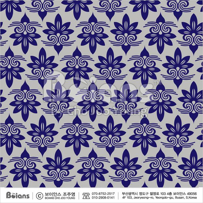 Boians Vector Original Damask Pattern Series 022.
