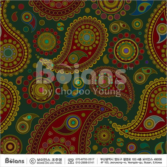 Boians Vector Original Damask Pattern Series 024.