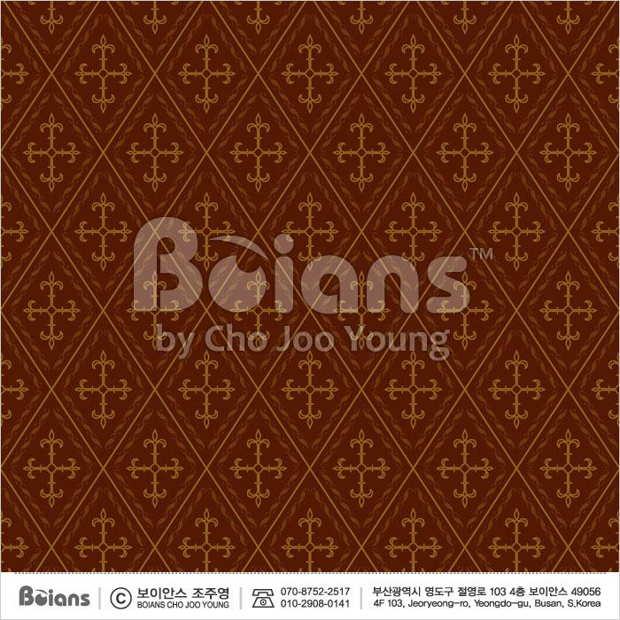 Boians Vector Original Damask Pattern Series 025.