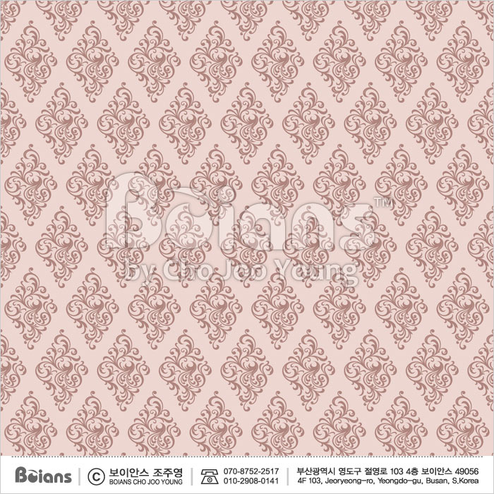 Boians Vector Original Damask Pattern Series 026.