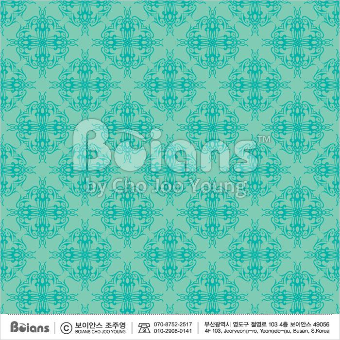 Boians Vector Original Damask Pattern Series 027.