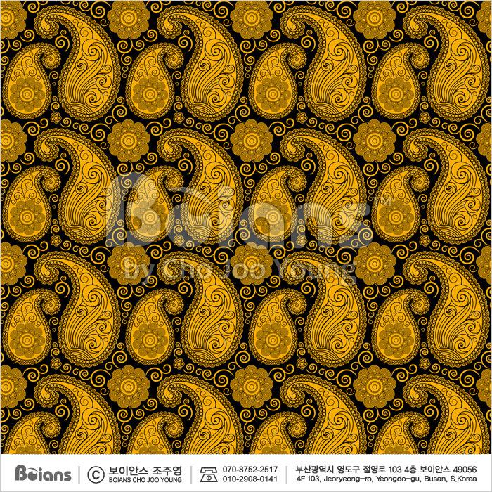 Boians Vector Original Damask Pattern Series 029.