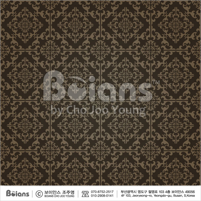Boians Vector Original Damask Pattern Series 031.