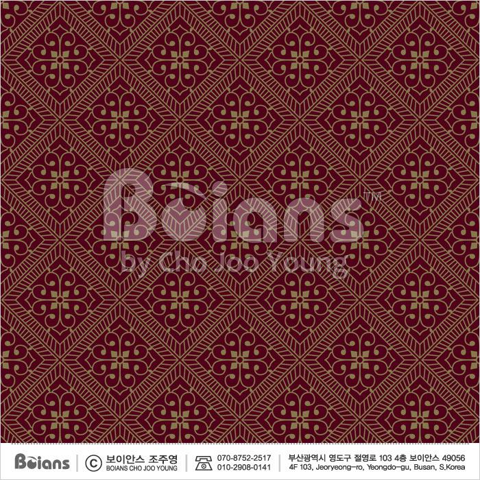 Boians Vector Original Damask Pattern Series 033.