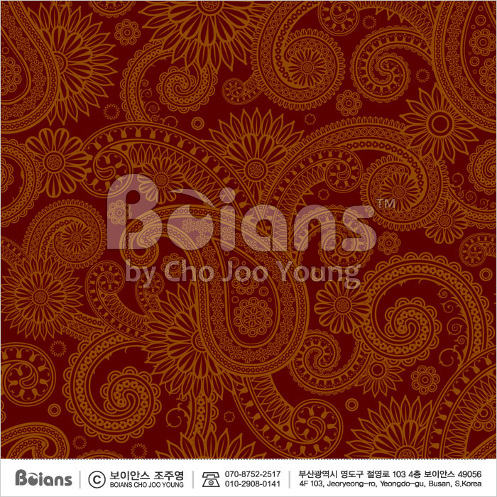 Boians Vector Original Damask Pattern Series 038.