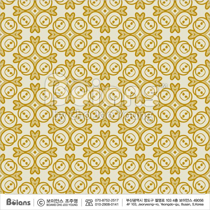 Boians Vector Original Damask Pattern Series 039.