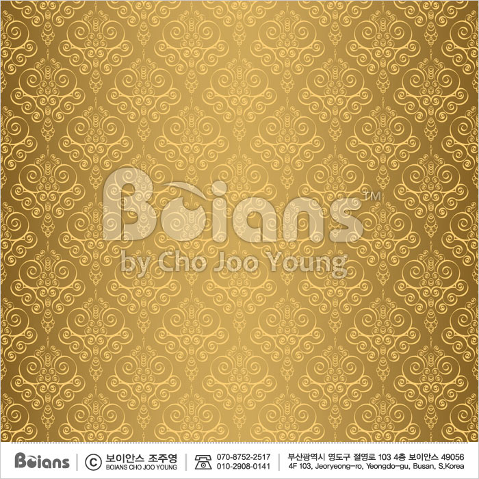 Boians Vector Original Damask Pattern Series 041.