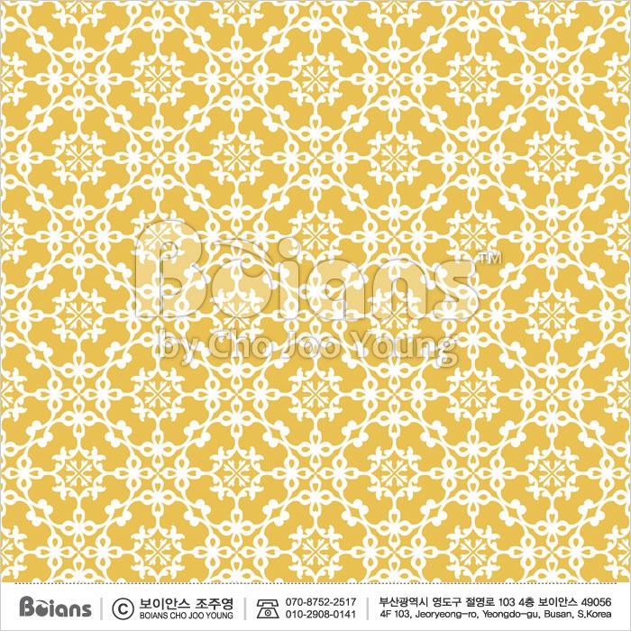 Boians Vector Original Damask Pattern Series 042.