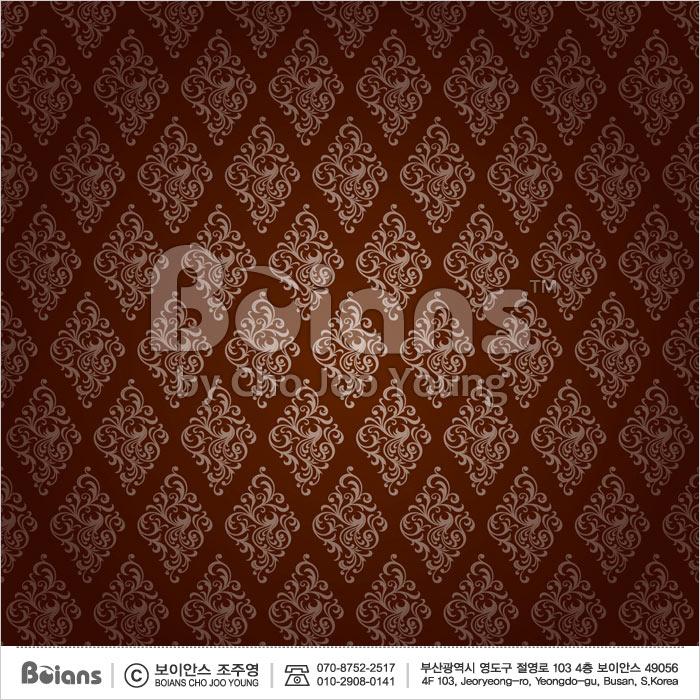 Boians Vector Original Damask Pattern Series 043.