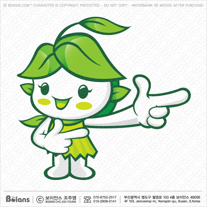 Boians Vector Forest and Silva Character Suggests the direction. Fairy Character.