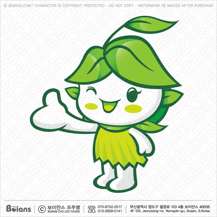 Boians Vector Forest and Silva Character guides gesture. Fairy Character.