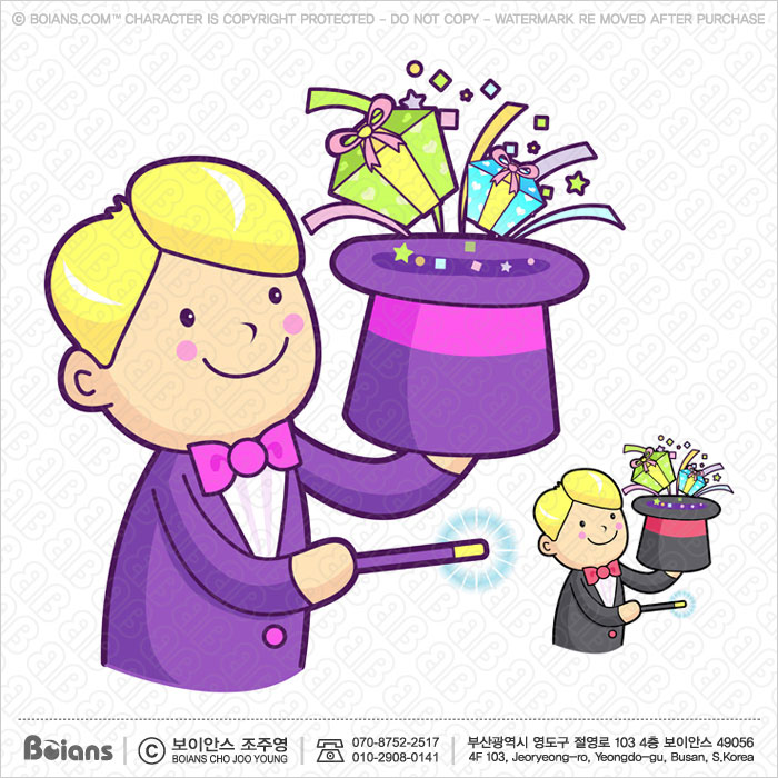 Boians Vector Magician hat magic to be utilized.
