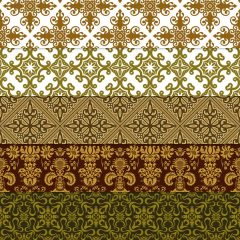 New Launched Boians Vector Original Damask Pattern Background Series 200 Cut.